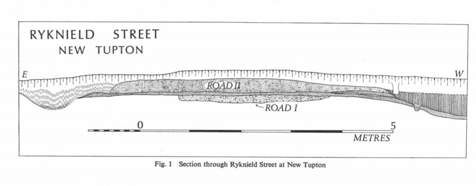 Ryknield Street Section at New Tupton